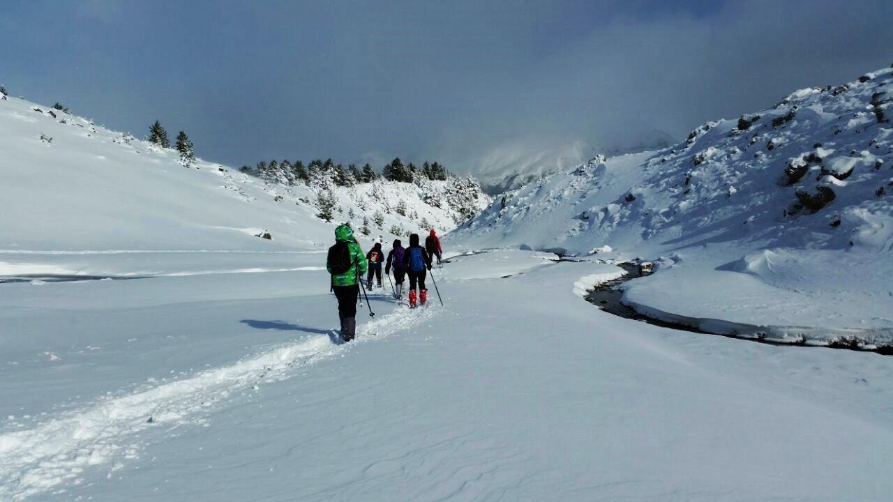 rutas raquetas de nieve - proyectoakua.com